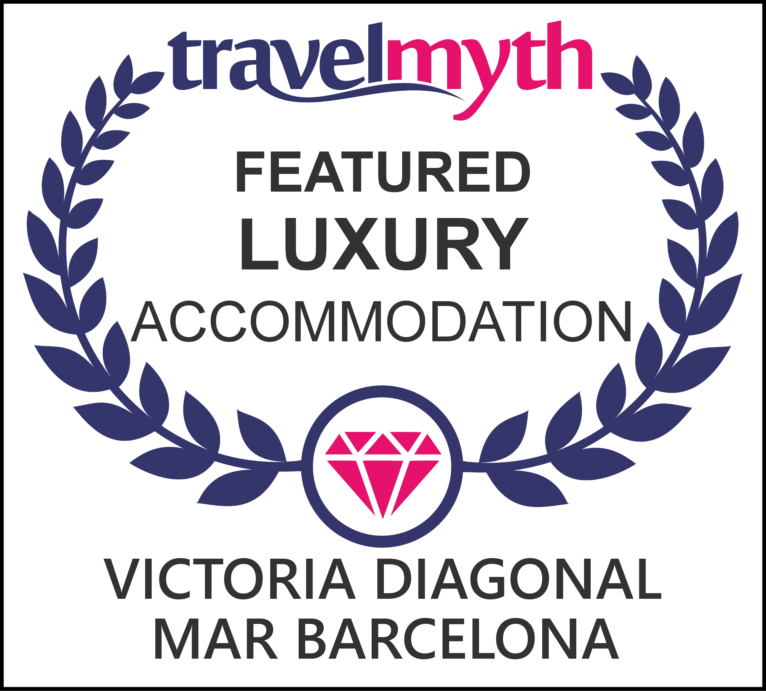 Barcelona hotel luxury diagonal mar