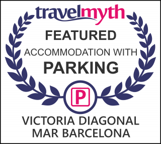 Barcelona hotel with parking